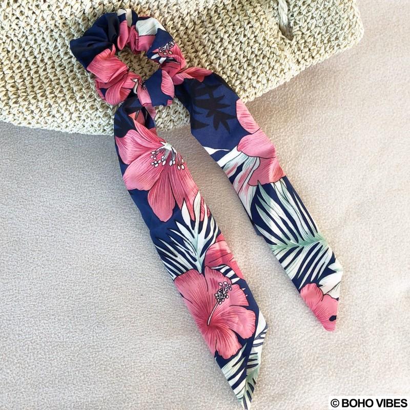 style moderne dernière collection nouvelles variétés Chouchou foulard imprimés fleuris