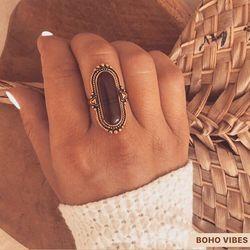 Bague dorée et marron, soldée à 6€ sur www.bohovibes.fr ✨ #BohoVibes #Boutique #Bijoux #Accessoires #Boho #Boheme #Shopping #BohoOutfit #BohoStyle #BohemeChic #Jewelry #Jewels #Accessories #Bague #Ring #OnlineShopping #Eshop #Mode #Details #FashionDetails #FashionJewelry #BohoJewels #BohoJewelry