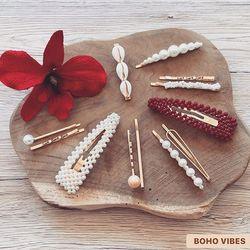Barrettes lovers 💋 Encore quelques articles disponibles, à retrouver sur www.bohovibes.fr ✨ #BohoVibes #Boutique #Bijoux #Accessoires #Barrette #Clip #Coiffure #Boheme #Boho #Shopping #BohoOutfit #BohoStyle #BarretteClip #BohemeChic #Jewelry #Jewels #Accessories #OnlineShopping #Eshop #Mode #Details #Ootd #FashionDetails #FashionJewelry #BohoJewels #BohoJewelry #HairStyle #HairDetails